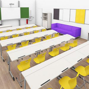 Modern Primary School Design in historic facilities